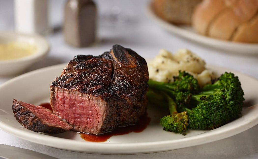 Bone In Filet with Mashed Potatoes