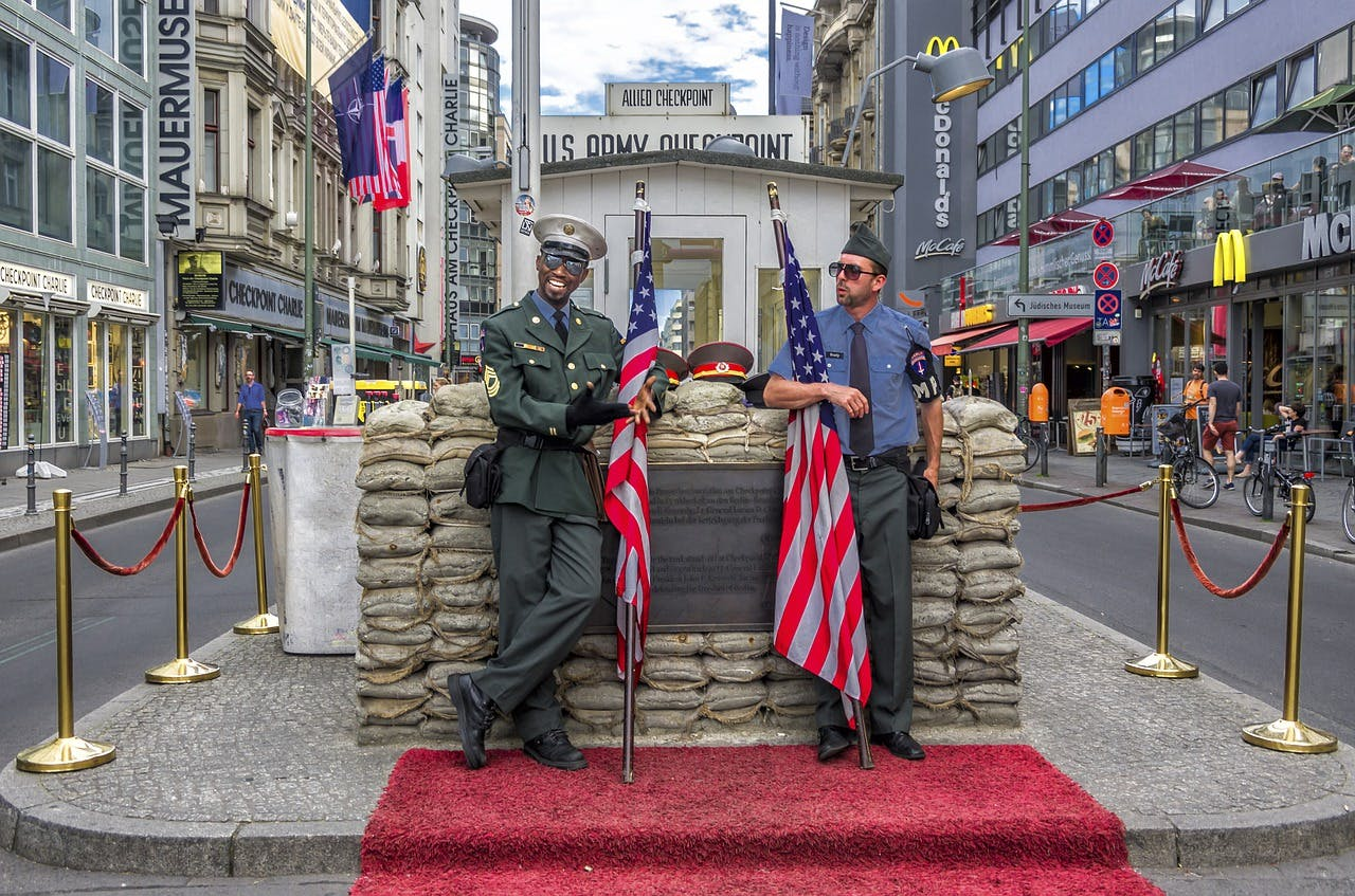 Photo Checkpoint Charlie - Allemagne