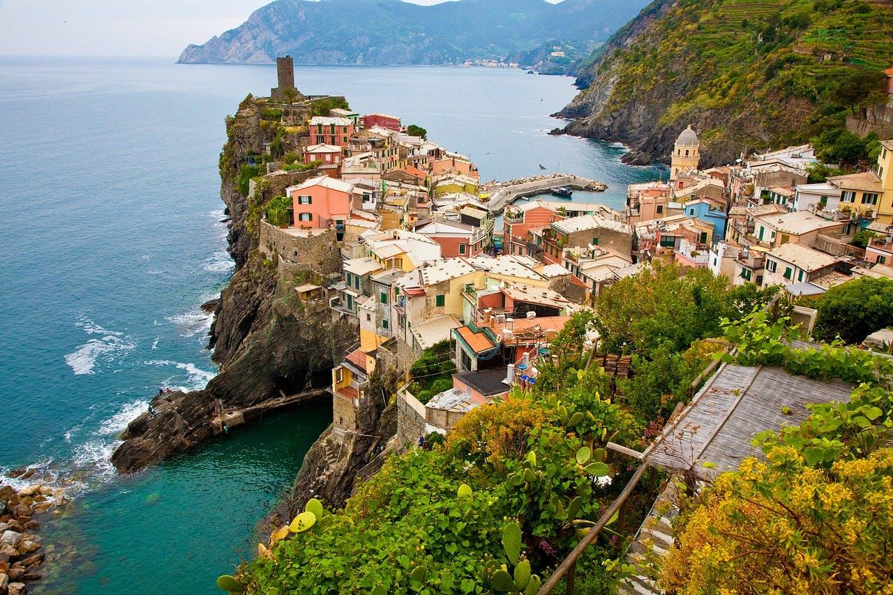 Photo La région des Cinque Terre - Italie