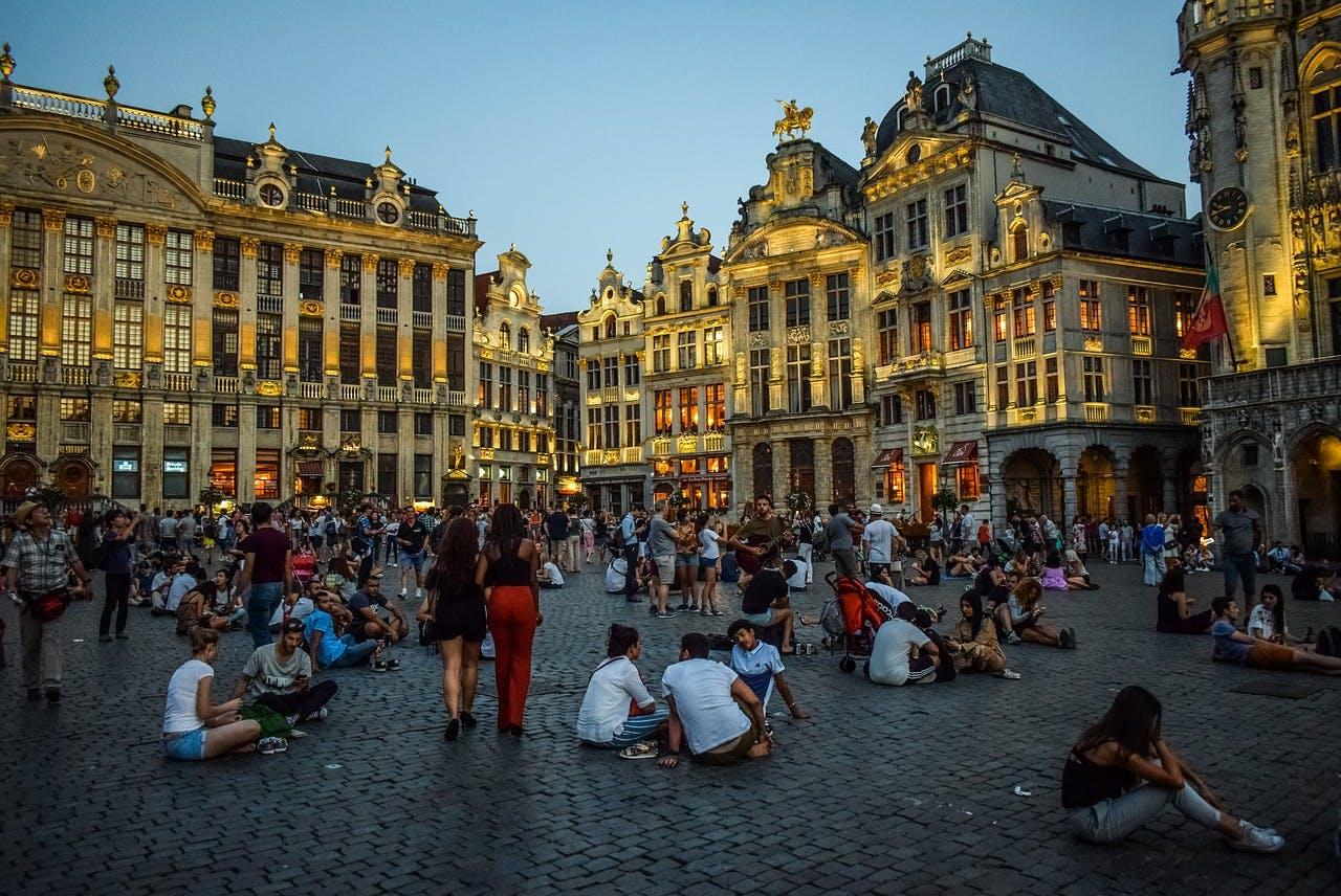 Photo Les restaurants de la Grand'place de Bruxelles - Belgique