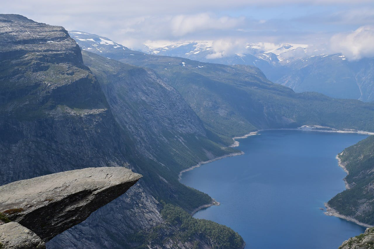 Photo Trolltunga - Norvège