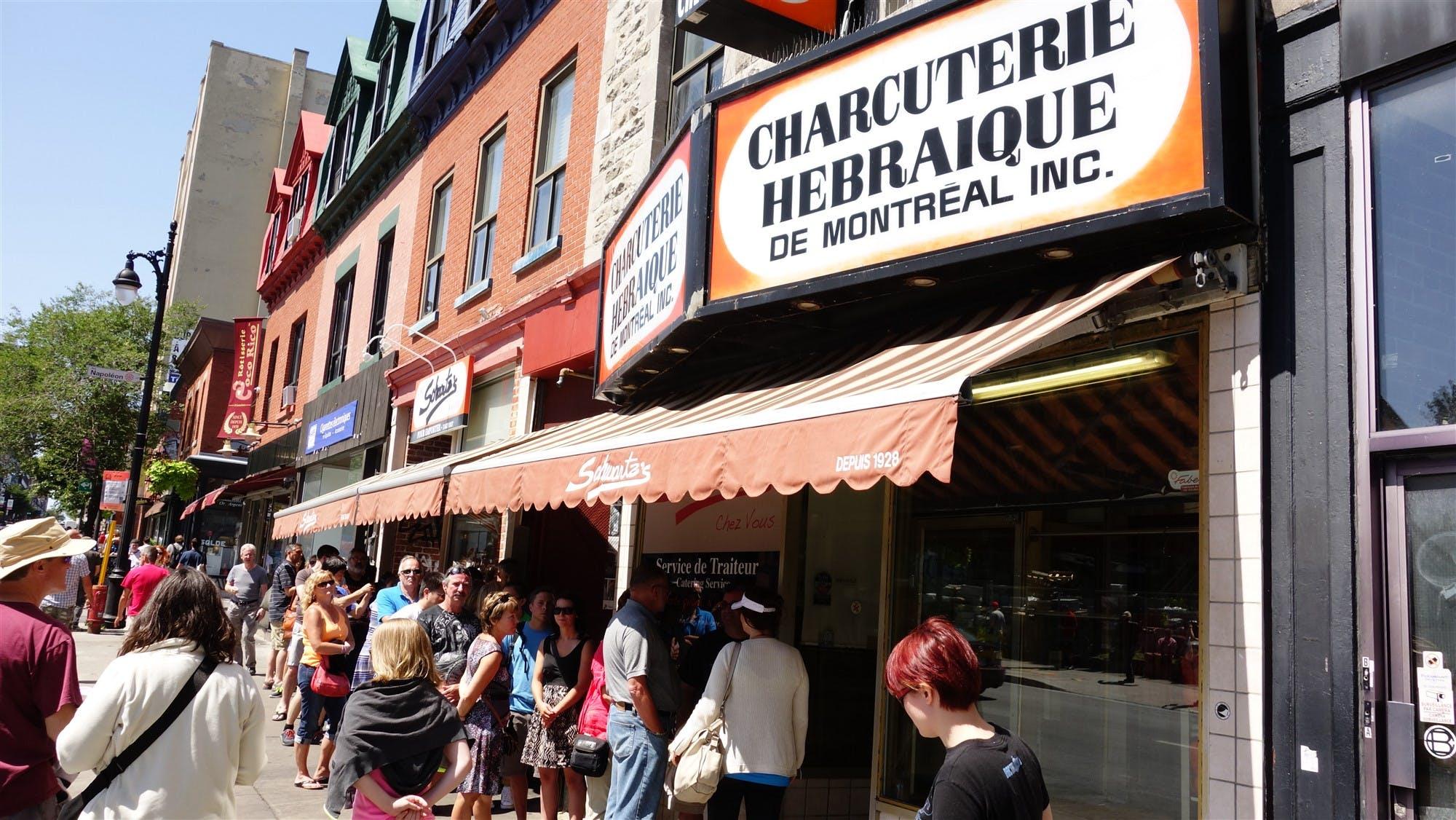 Photo La charcuterie Schwartz - Canada