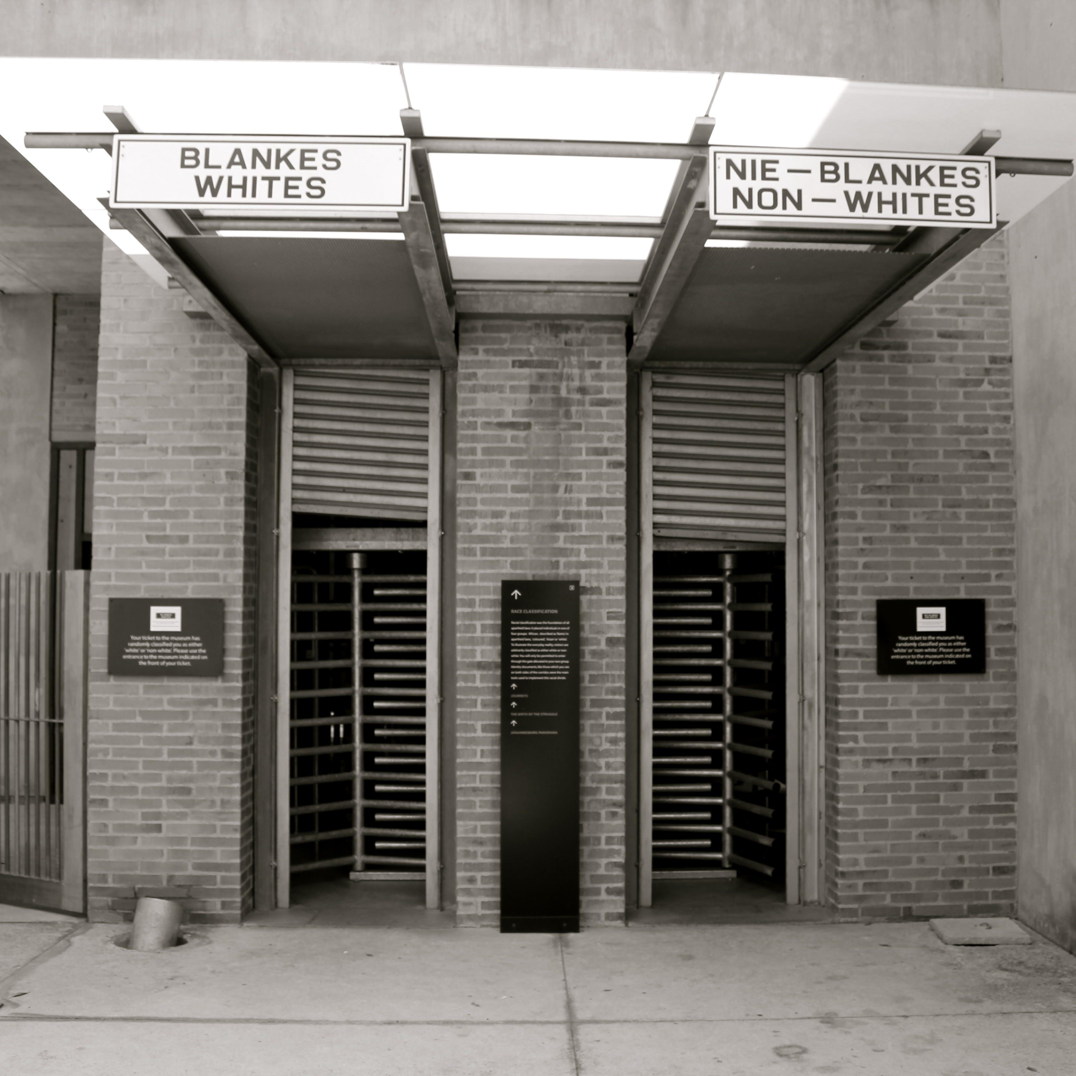 Photo Le musée de l'apartheid - Afrique du Sud