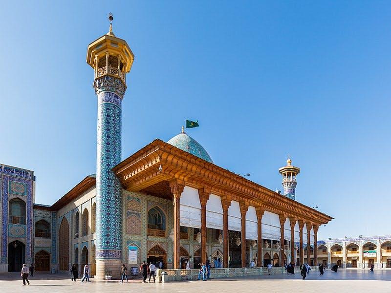 Photo Le Mausolée Shah Cheragh - Iran