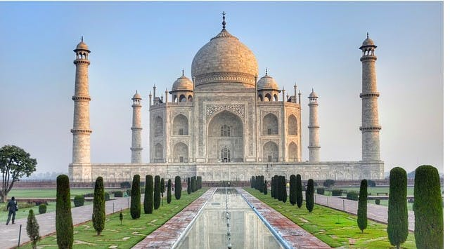 Photo Taj mahal - Inde