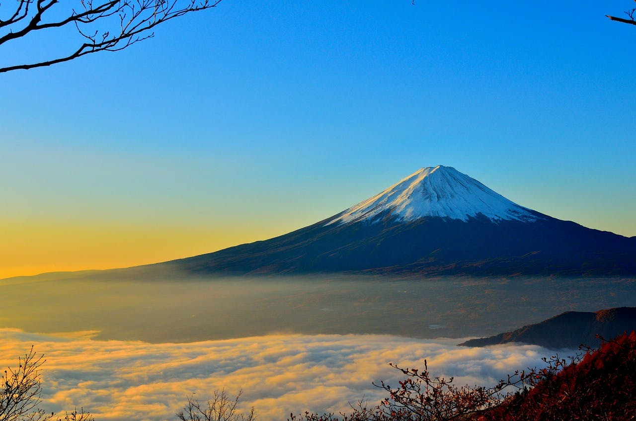 Photo Le Mont Fuji - Japon