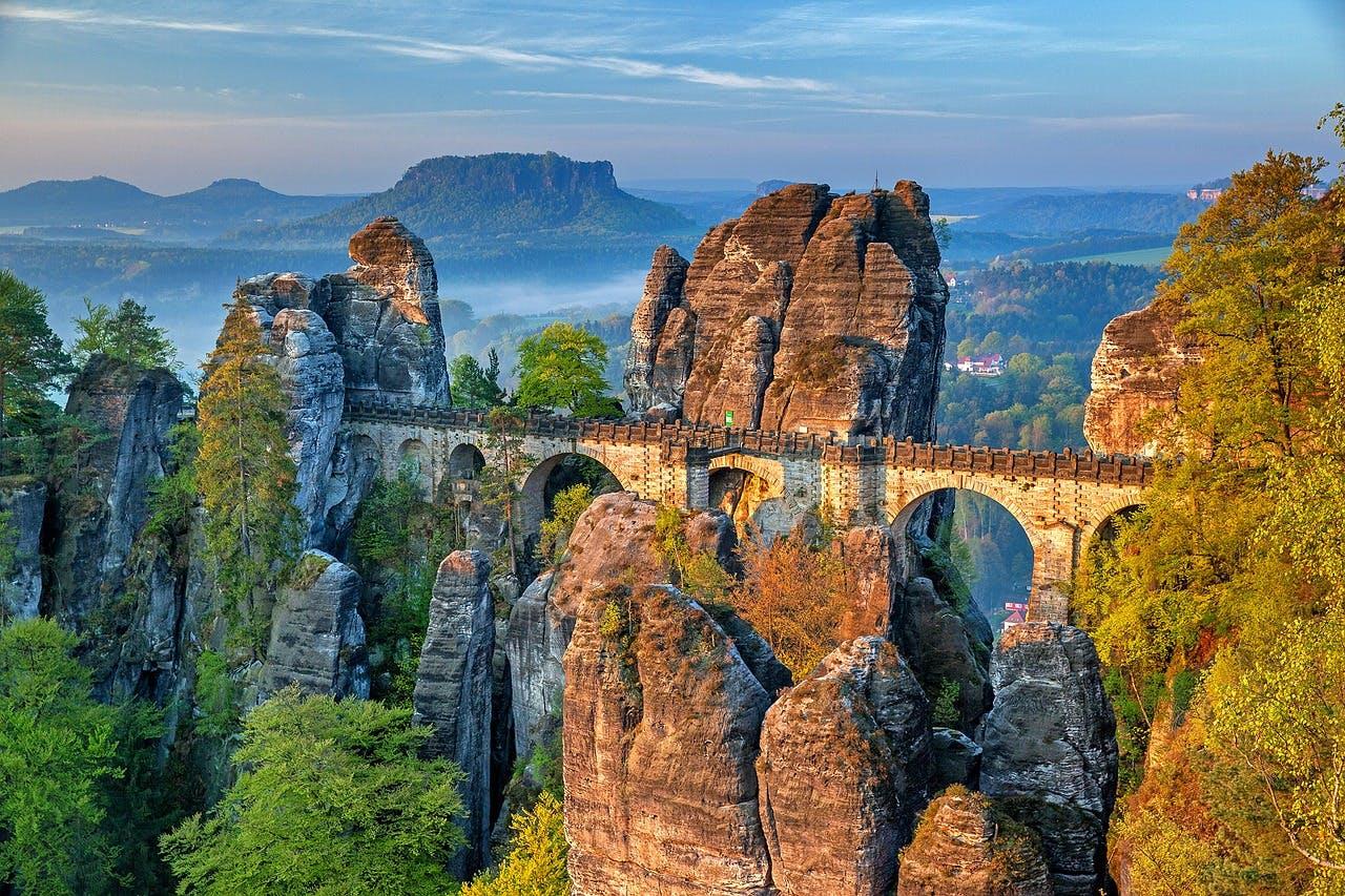 Photo Le pont de la Bastei - Allemagne