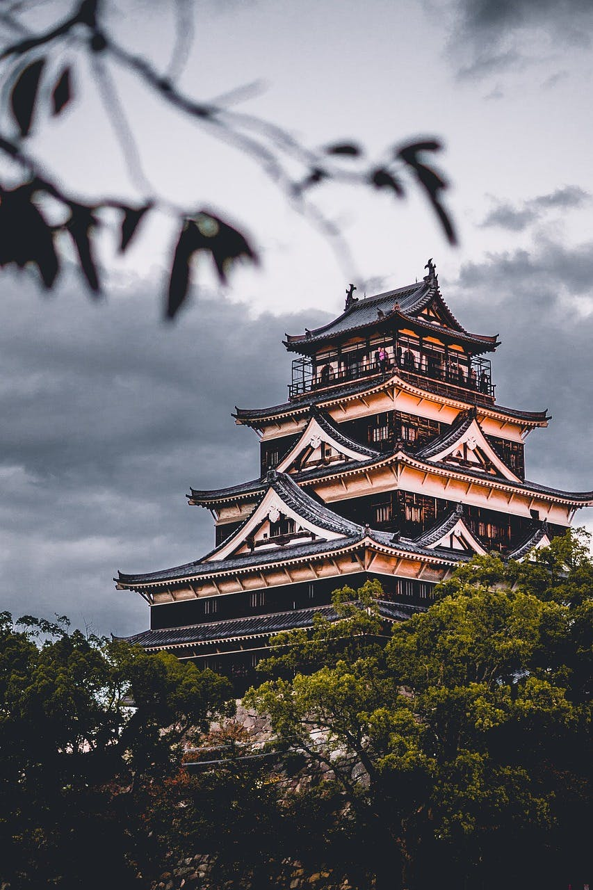 Photo Le Château d'Hiroshima - Japon