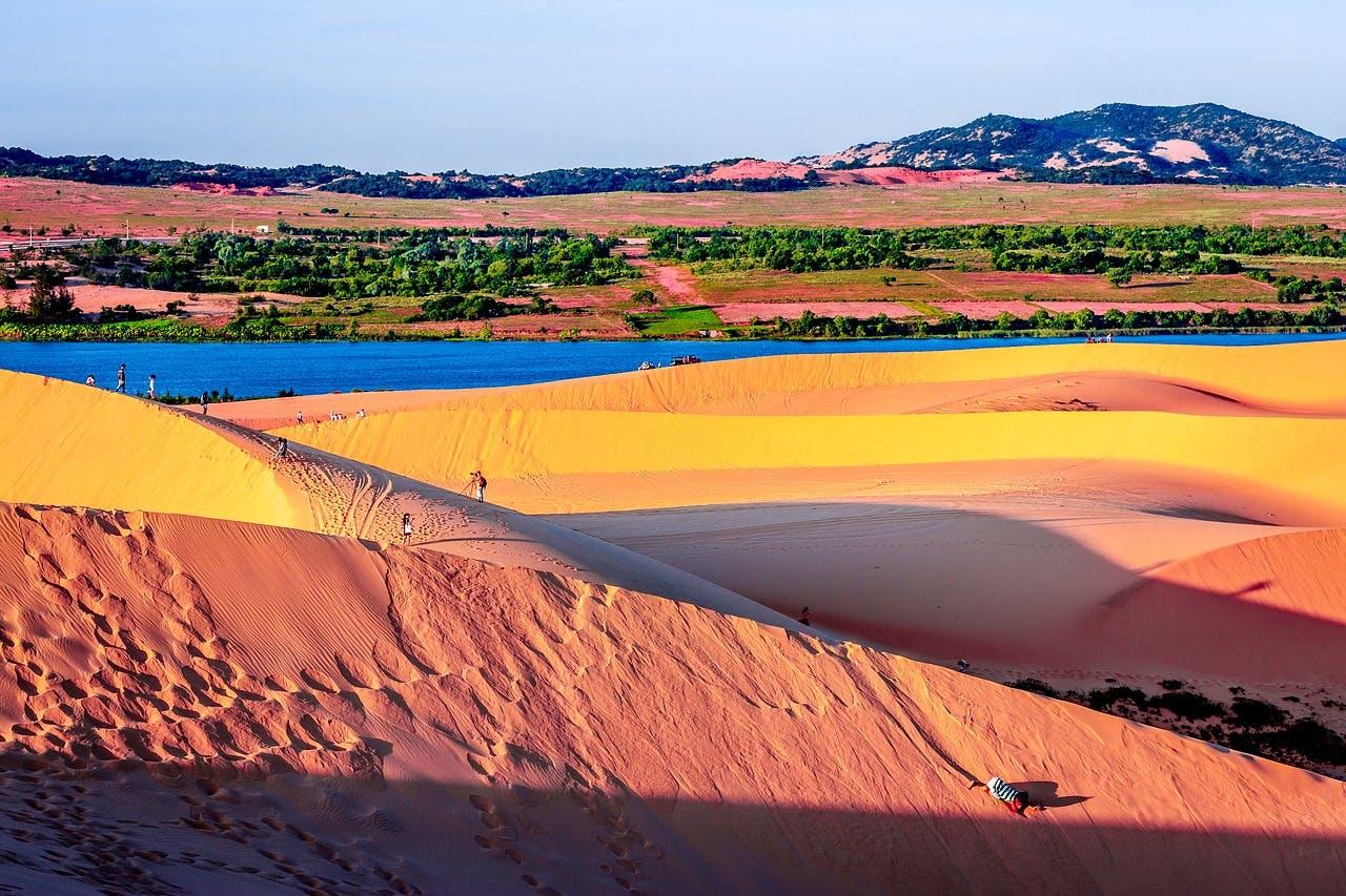 Photo Les dunes de Mui Ne - Vietnam