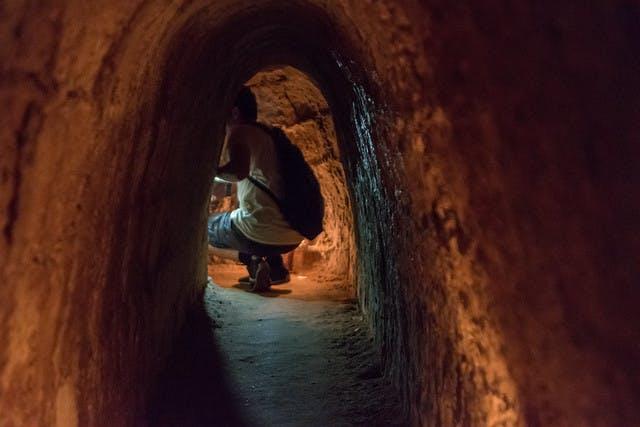 Photo Les tunnels de Cu Chi - Vietnam