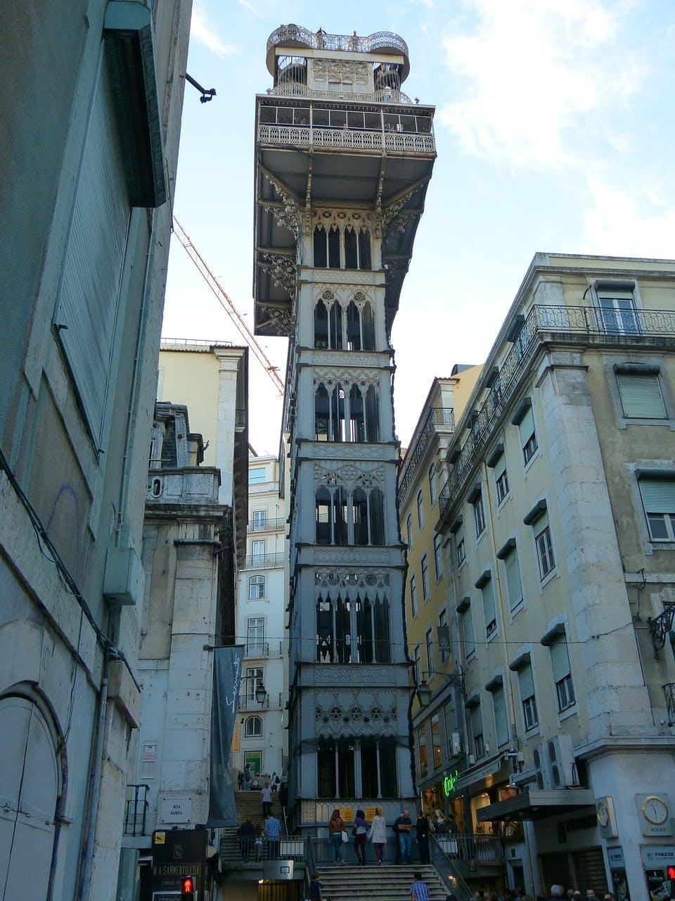 Photo L'ascenseur de Santa Justa - Portugal