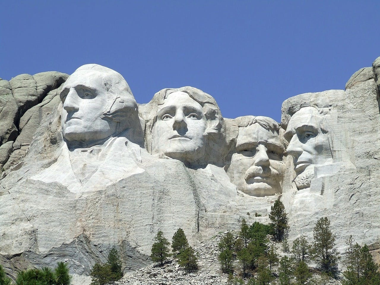 Photo Le Mont Rushmore - Etats-Unis