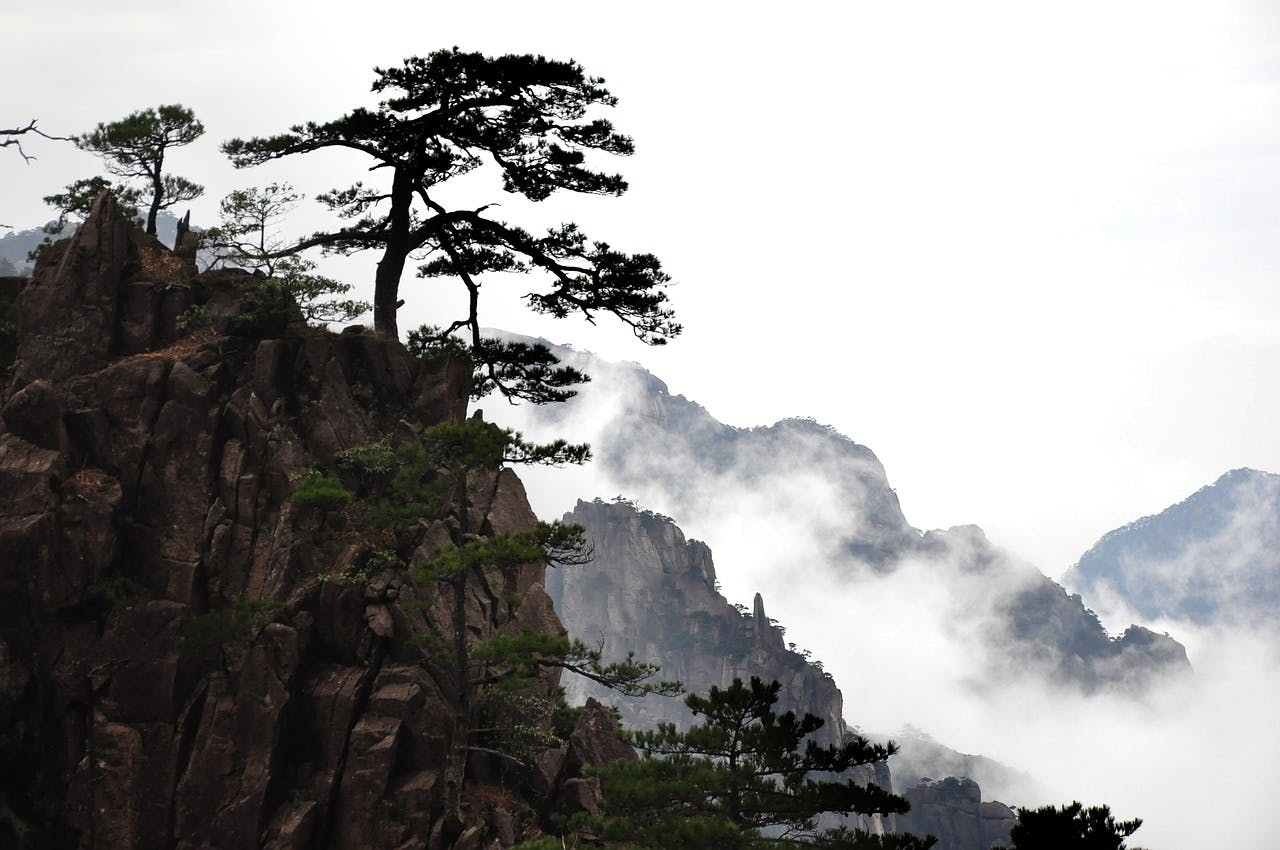 Photo Le mont HuangShan - Chine