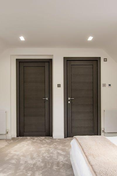 Bespoke Internal Door Gio Grey Oak