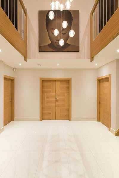 Bespoke Natural Oak Internal Door Vario 6