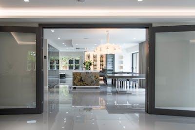 Gio Glass Bespoke Internal Door open