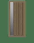 Natural Oak single leaf front door - Pichola VS by Deuren