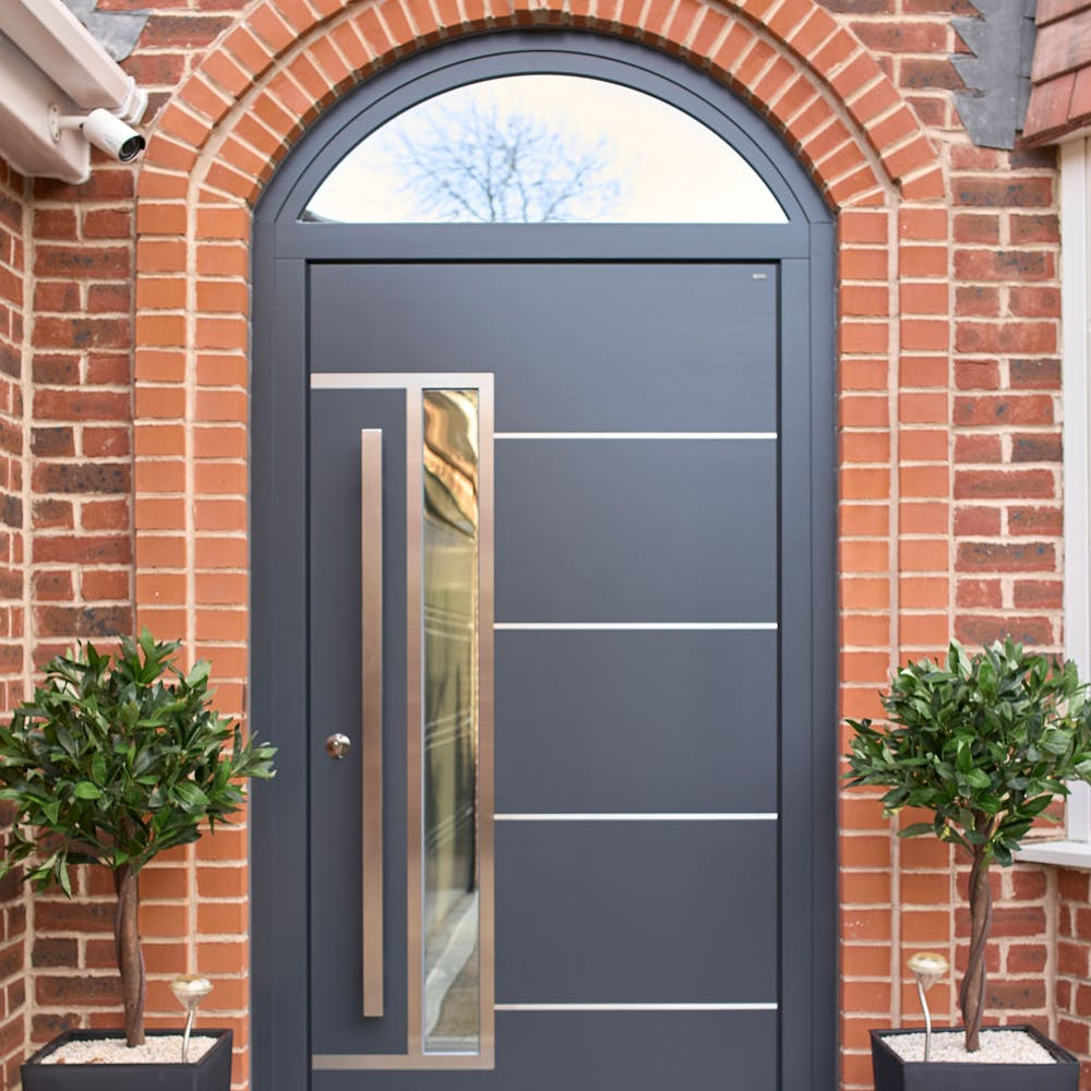 A captivating front door to meet a 'UK-made' brief