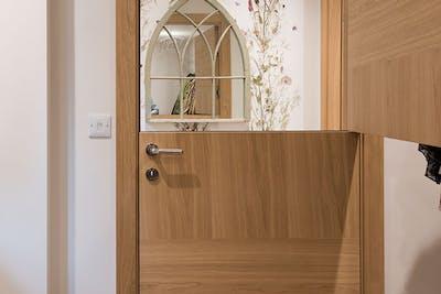 Bespoke Natural Oak Internal Door Vario 3