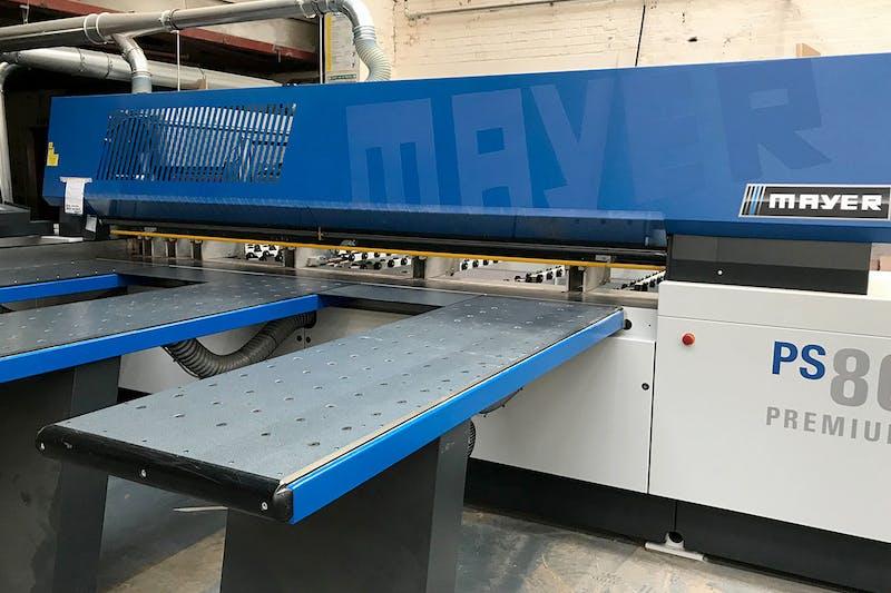 Introducing Deuren's new beam saw