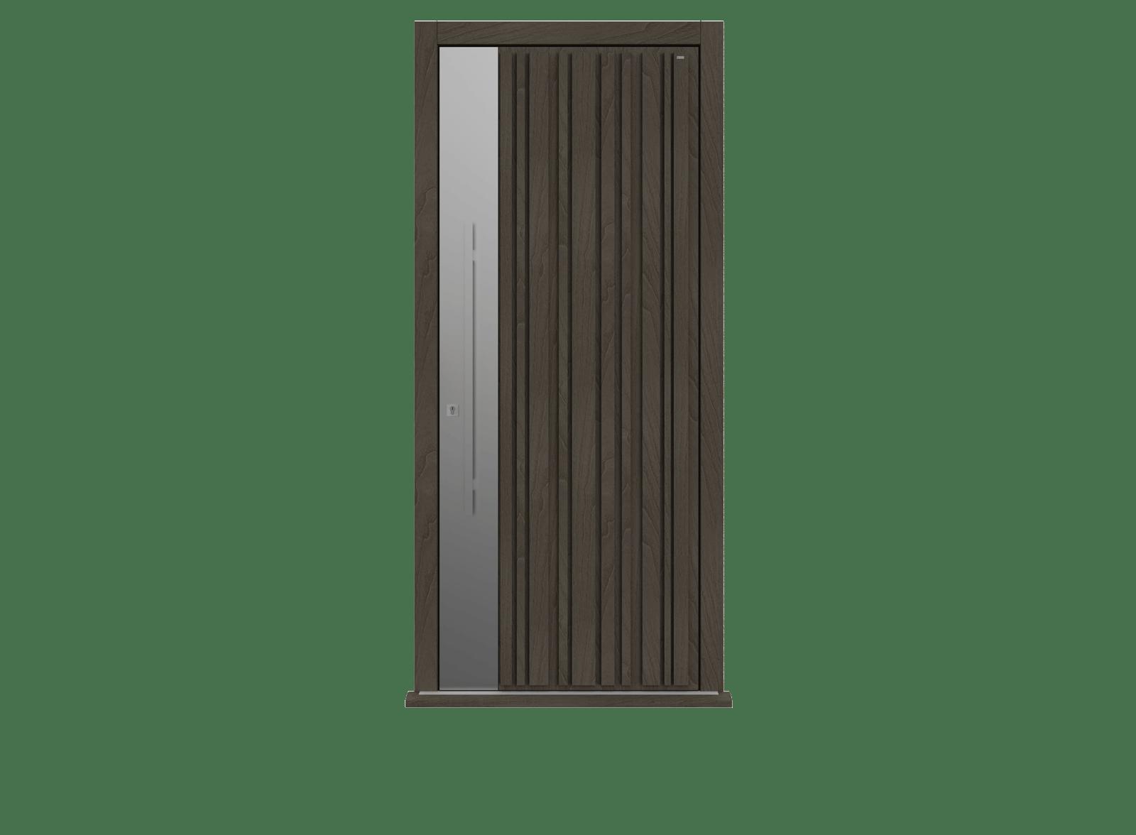 Peco Grigio Garage Door - Piano S by Deuren
