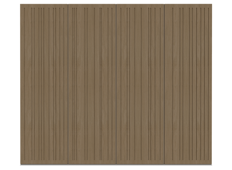 Natural Oak Garage Door - Toba by Deuren