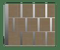 Natural Oak Garage Door - Tegal SSI by Deuren