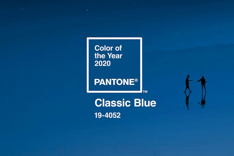 Classic styling for Pantone's colour of the year 2020