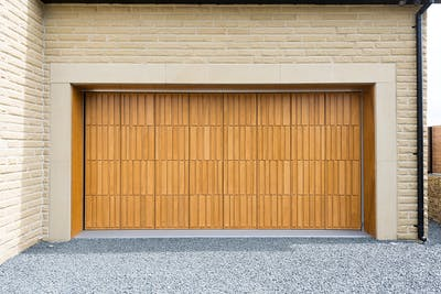 Bespoke Tavole Side Sectional Garage Door