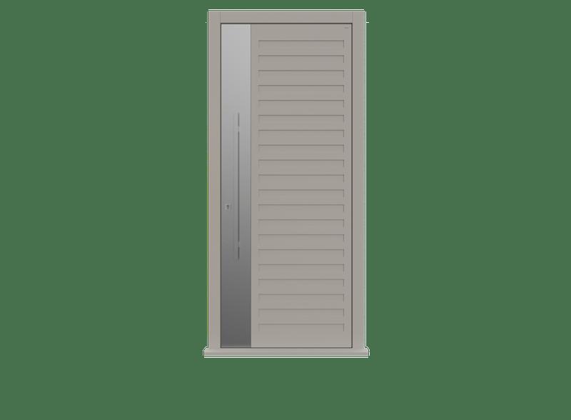 Single leaf front door - Como S by Deuren