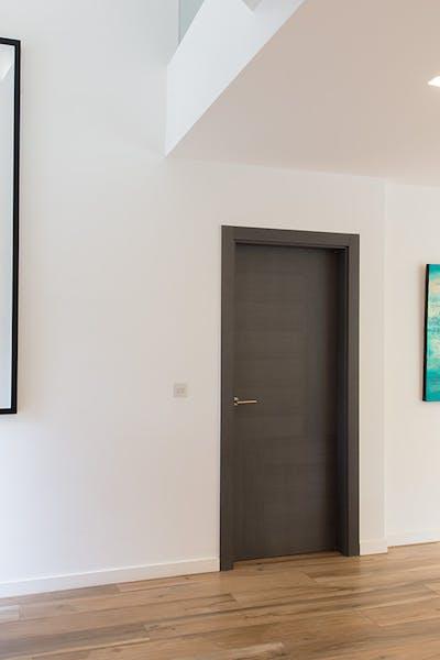 Bespoke Internal Door Trem H Oak Grey