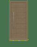 Natural Oak Single leaf front door - Versare by Deuren