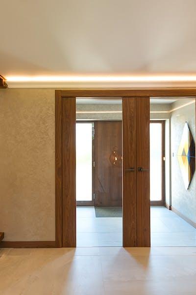 Bespoke Internal Doors Trem Glass