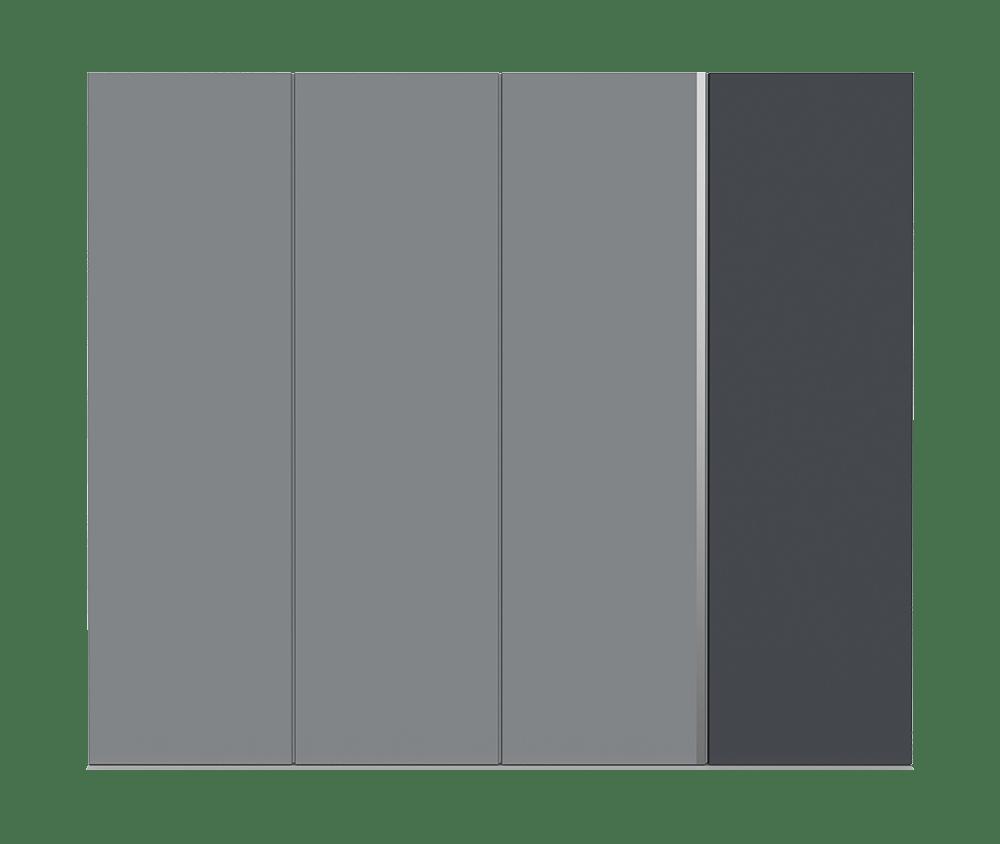 Railings garage door - Ness by Deuren