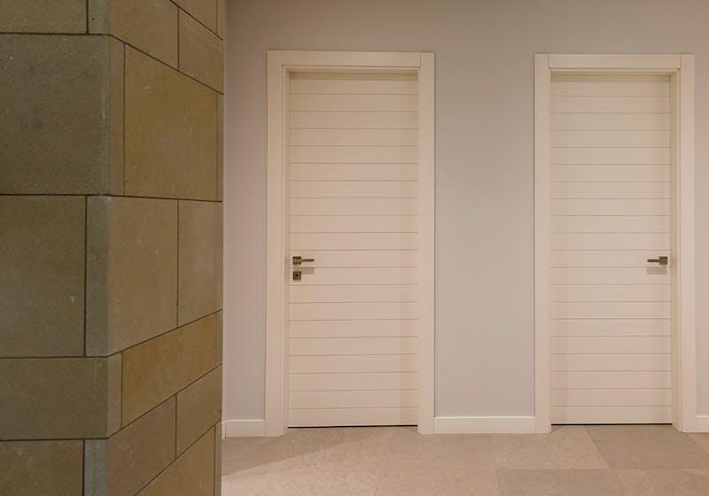 Hanging internal door sets