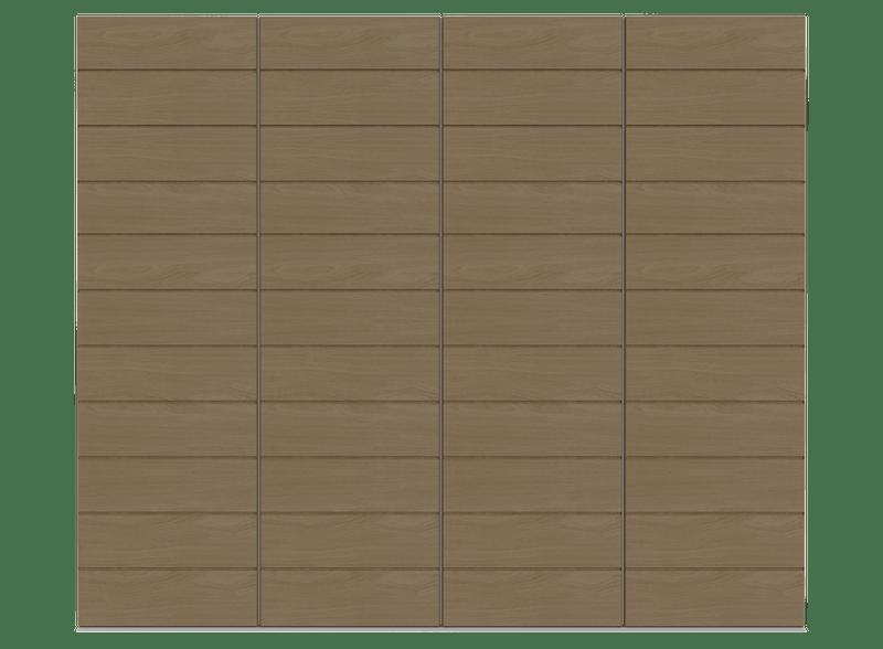 Natural Oak Garage Door - Pichola H by Deuren
