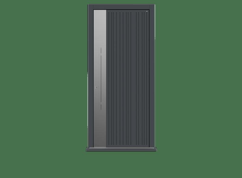 Single leaf front door - Toba S by Deuren