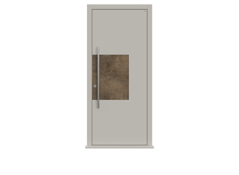 White Single leaf front door - Teri by Deuren