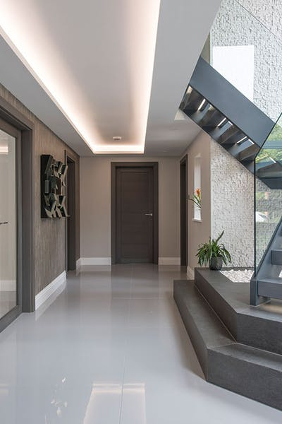 Bespoke Gio Grey Oak Internal Door