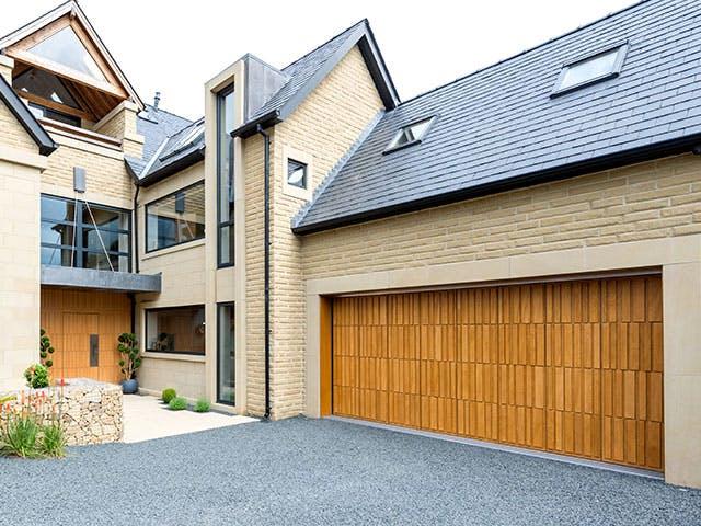 Matching front & garage doors