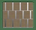 Natural Oak Garage Door - Tegal SI by Deuren