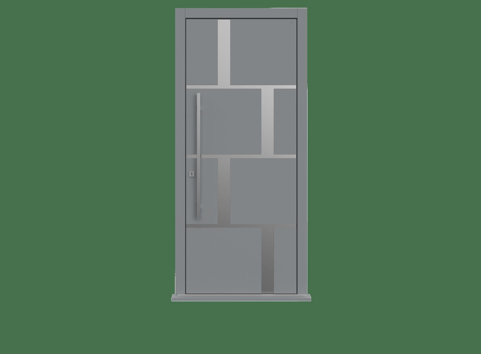 Plummet Single leaf front door - Tegal SI by Deuren