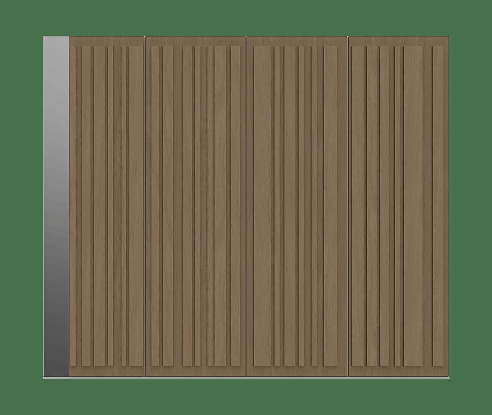 Natural Oak garage door - Piano S by Deuren