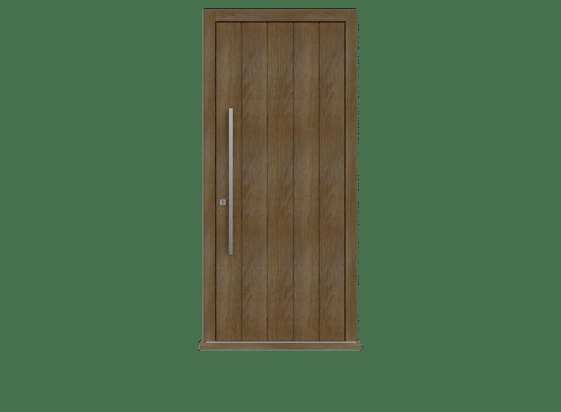 Single leaf front door - Pichola V by Deuren