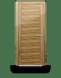 Satin Walnut single leaf internal door - Uccio by Deuren