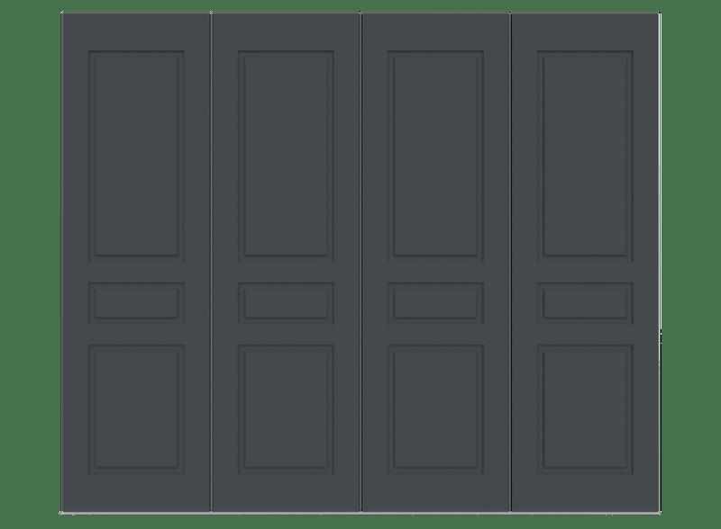 Railings Garage Door - Georgian by Deuren