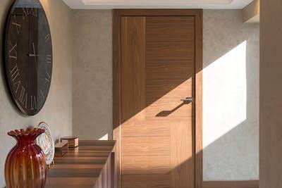 Bespoke Internal Door Natural Oak Vario 4