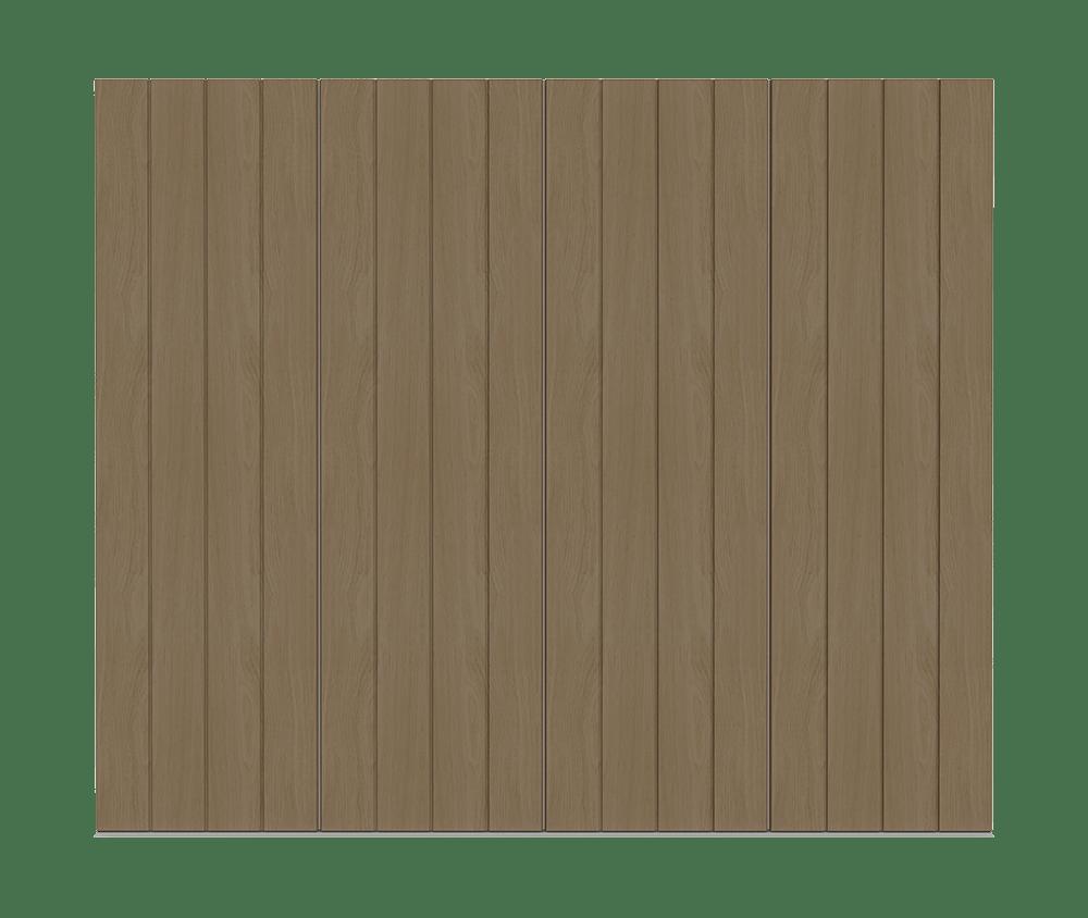 Natural Oak garage door - Pichola V by Deuren