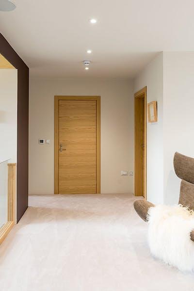 Bespoke Internal Door Natural Oak Trem H