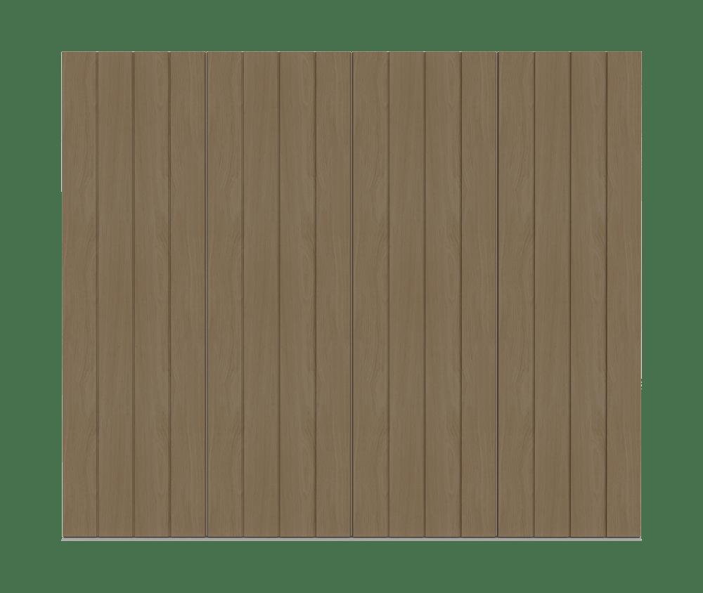 Natural Oak garage door - Pichola VS by Deuren